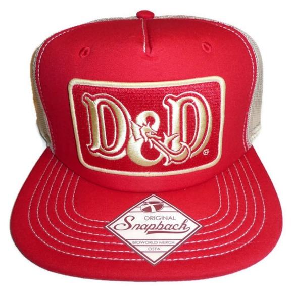 a58f79231bd Dungeons   Dragons Mesh Trucker Hat D D Snapback